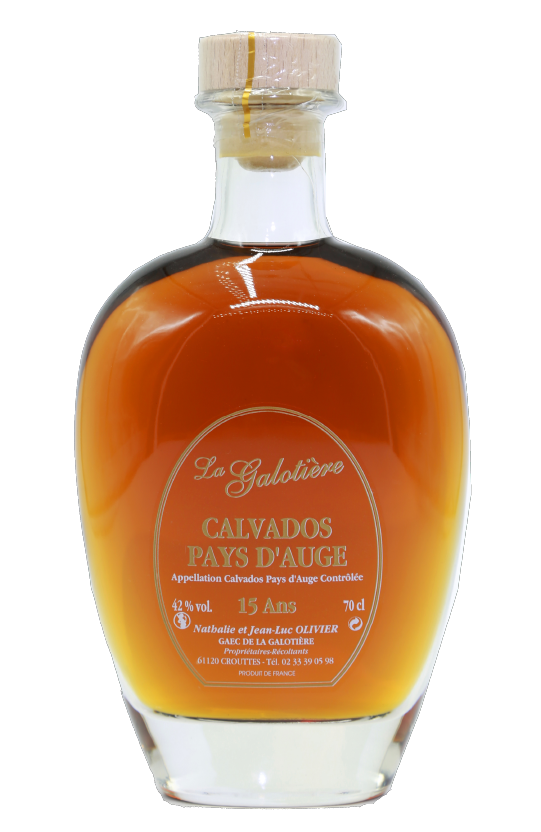 Calvados Carafe 15 ans Biologique