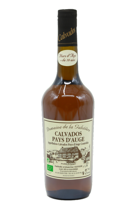 Calvados Hors-d'Âge + 10 ans Biologique